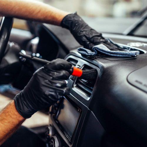 Producto limpieza interior del coche